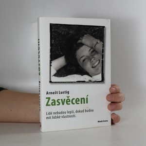 náhled knihy - Zasvěcení (věnování autora)