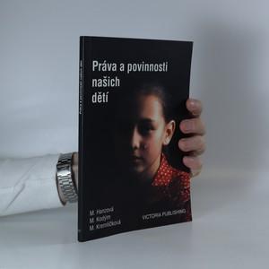 náhled knihy - Práva a povinnosti našich dětí
