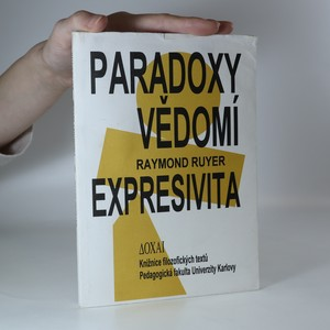 náhled knihy - Paradoxy vědomí. Expresivita