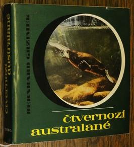 náhled knihy - Čtvernozí Australané : dobrodružství se zvířaty a lidmi pátého světadílu