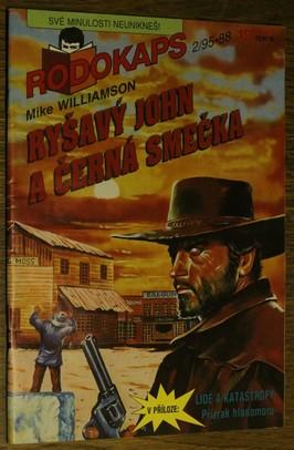 náhled knihy - Ryšavý John a Černá smečka č.2