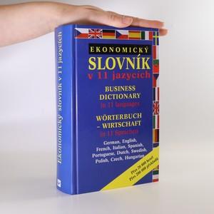 náhled knihy - Ekonomický slovník v jedenácti jazycích