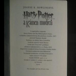 antikvární kniha Harry Potter I.-IV. díl: První čtyři roky v Bradavicích (4 svazky), 2002