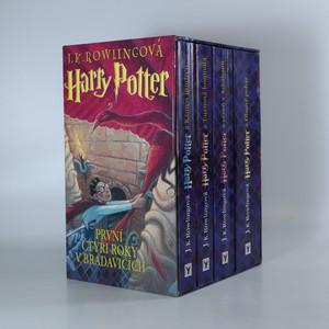 náhled knihy - Harry Potter I.-IV. díl: První čtyři roky v Bradavicích (4 svazky)