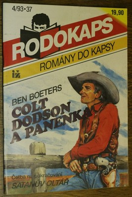 náhled knihy - Colt Dodson a Panenka č.4
