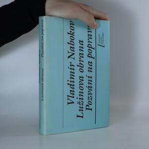 náhled knihy - Lužinova obrana. Pozvání na popravu