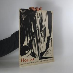 náhled knihy - Hollar. Sborník grafického umění - Ročník XX. 1946 Svazek 1.