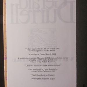 antikvární kniha Vdáváme matku a jiné povídky, 1995