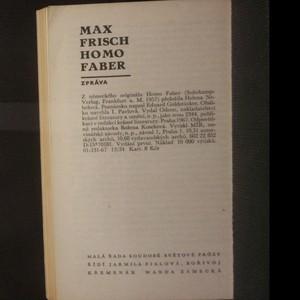 antikvární kniha Homo faber, 1967