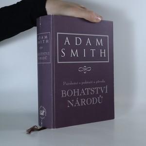 náhled knihy - Pojednání o podstatě a původu bohatství národů