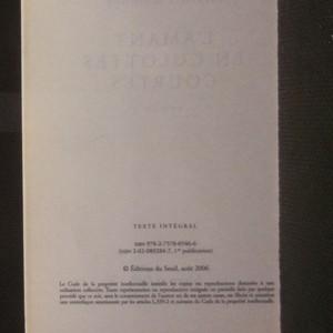 antikvární kniha L'amant en culottes courtes, 2006