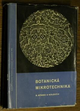 náhled knihy - Botanická mikrotechnika