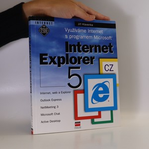 náhled knihy - Využíváme Internet s programem Microsoft. Internet Explorer 5