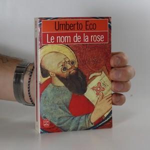 náhled knihy - Le nom de la rose
