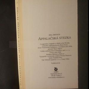 antikvární kniha Appalačská stezka, 2002