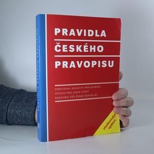 náhled knihy - Pravidla českého pravopisu. Studentské vydání