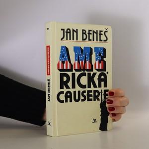 náhled knihy - Americká causerie. Čtení po Evropě