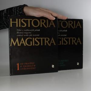 náhled knihy - Historia magistra (1. - 2. díl)