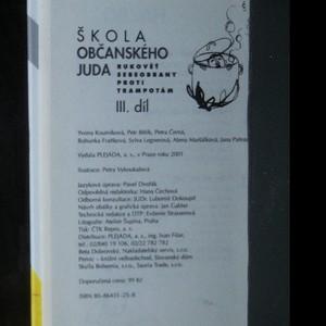 antikvární kniha Škola občanského juda. Rukověť sebeobrany proti trampotám. 1.-3. díl (ve 3 svazcích), 2000-2001