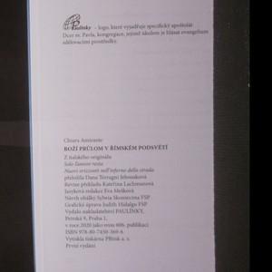 antikvární kniha Boží průlom v římském podsvětí, 2020