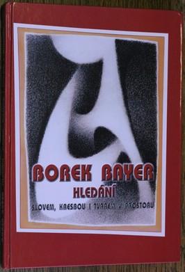 náhled knihy - Borek Bayer : hledání : (1958-2003) : slovem, kresbou i tvarem v prostoru