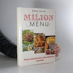 náhled knihy - Milion menu