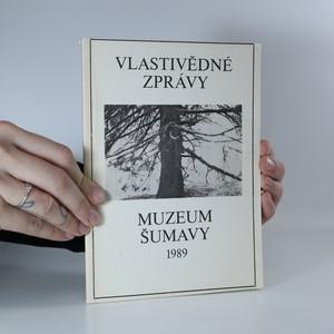 náhled knihy - Vlastivědné zprávy Muzea Šumavy č. 1 1989