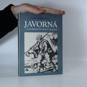 náhled knihy - Javorná...zapomenutý kout Šumavy II.