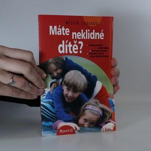 náhled knihy - Máte neklidné dítě?