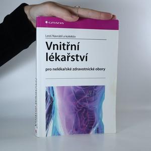 náhled knihy - Vnitřní lékařství pro nelékařské zdravotnické obory