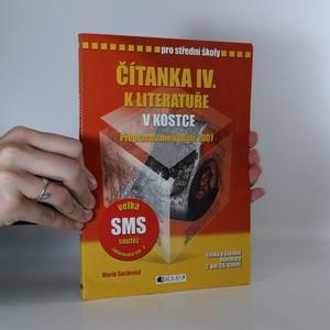 náhled knihy - Čítanka IV. k Literatuře v kostce