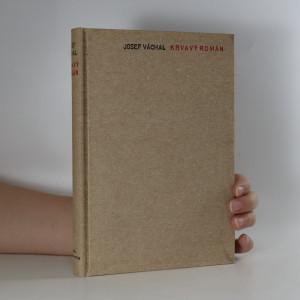 náhled knihy - Krvavý román