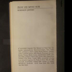 antikvární kniha Ženy od mysu Sur, 1965