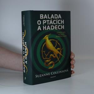náhled knihy - Balada o ptácích a hadech