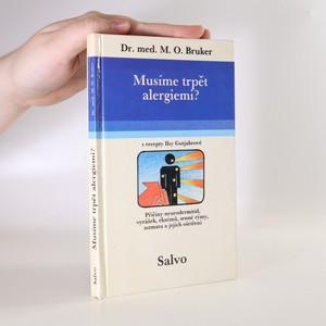 náhled knihy - Musíme trpět alergiemi? (s recepty Ilsy Gutjahr)