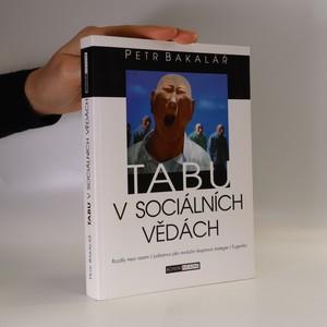náhled knihy - Tabu v sociálních vědách
