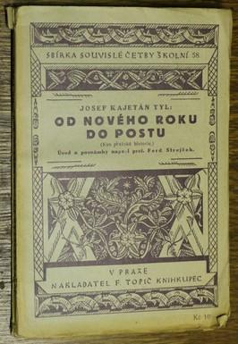 náhled knihy - Od nového roku do postu : kus pražského života