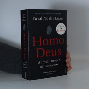 náhled knihy - Homo Deus. A brief history of tomorrow