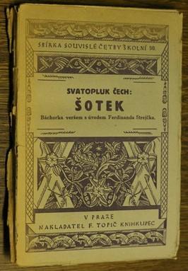 náhled knihy - Šotek : báchorka veršem
