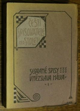 náhled knihy - Sebrané spisy Vítězslava Hálka: Záviš z Falkenštejna; Král Rudolf; Král Vukašín