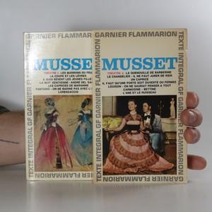 náhled knihy - Musset. Théatre (1.-2. díl)