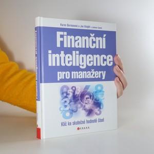 náhled knihy - Finanční inteligence pro manažery. Klíč ke skutečné hodnotě čísel
