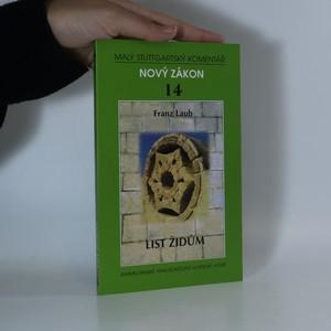 náhled knihy - List Židům