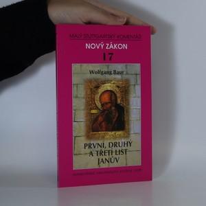 náhled knihy - První, druhý a třetí list Janův