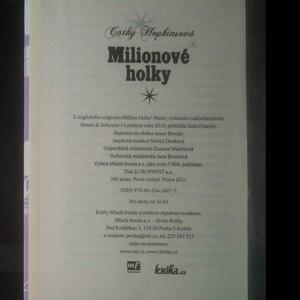 antikvární kniha Milionové holky, 2011