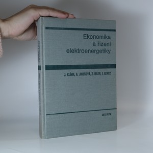 náhled knihy - Ekonomika a řízení elektroenergetiky
