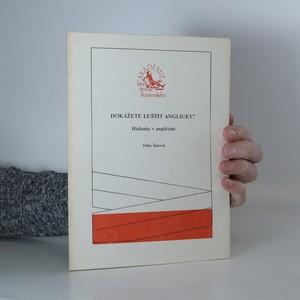 náhled knihy - Dokážete luštit anglicky? : hádanky v angličtině
