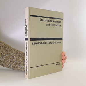 náhled knihy - Statistická indukce pro ekonomy