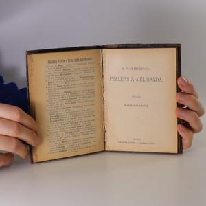 antikvární kniha Nebožská komedie. Pelléas a Melisanda (2 knihy v jedné vazbě), neuveden