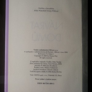 antikvární kniha Návrat domů, 2006